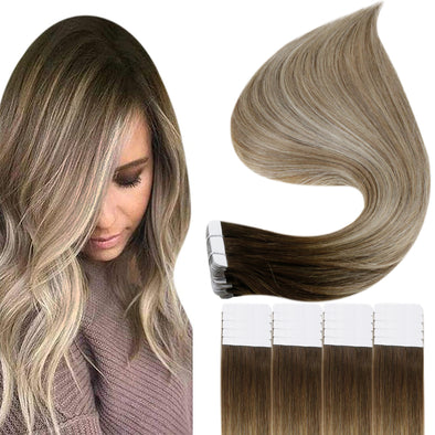 remy tape in hair extensions 22 inch