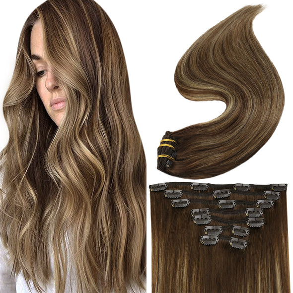 balayage in hair extensions