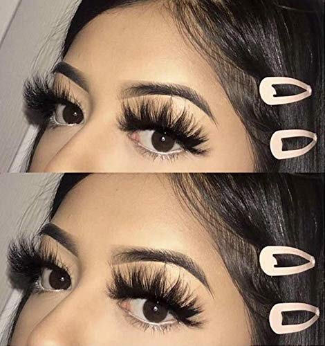 [Could Only Ship Together With The Hair]Full Shine 5D High Volume Mink Lashes With Natural Eyeline (5D-#66)