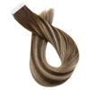 seamless tape in hair extensions real human hair