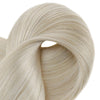 Seamless Clip in Extensions 100% Remy Human Hair 8 Pieces Light Blonde (#60)
