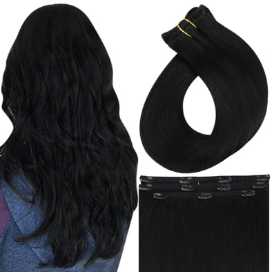 clip in virgin hair extensions