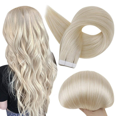 tape in human hair extensions 20 pieces