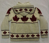 Cream Maple Leaf with Detachable Hood