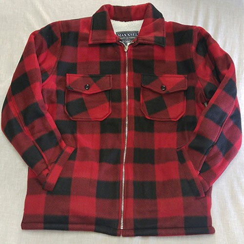 Red Plaid Buffalo Jacket