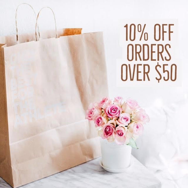 Get 10% OFF ALL Orders over $50.00