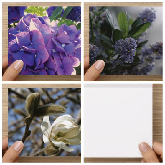 Elegant Floral Greeting Card 3 Piece Set - High Tide Pictures & Gifts