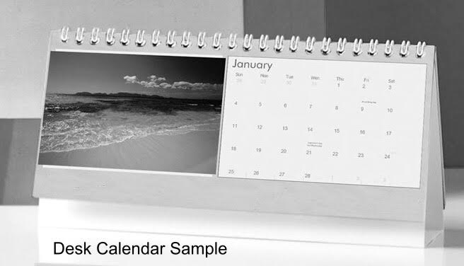 NEW 2020 Sea Glass & Coastal Theme Desk Calendar