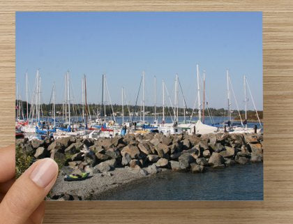 Coastal Vancouver Island Scenes Set of 3 Blank Greeting Cards