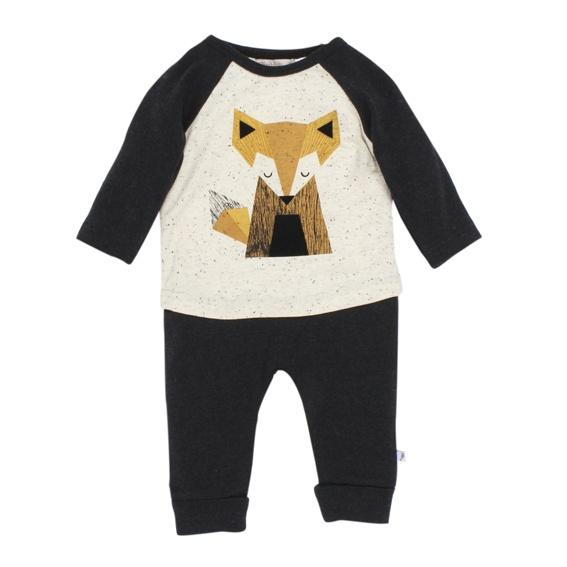 Fox and Finch Mr Fox Romper