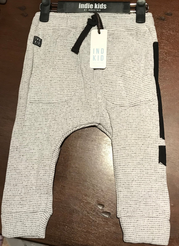 Indie Kids Textured Jogger Off White