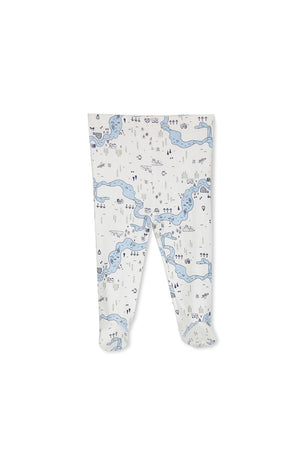 Milky Map Pant