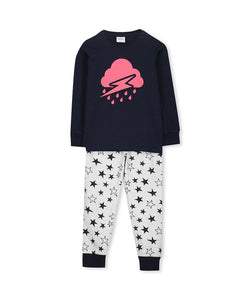Milky Cloudy PJ'S Sizes 8 & 10