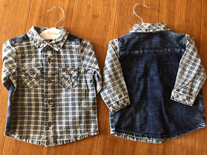 Fox and Finch Rock Check Shirt