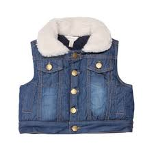 Fox and Finch Padded Denim Vest