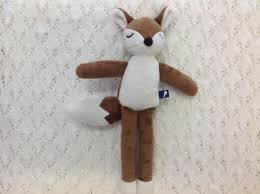 Fox and Finch Rattle Fox Toy