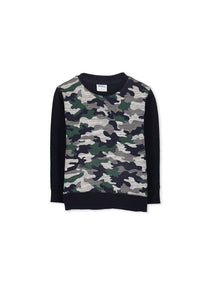 Milky Camo Sweat