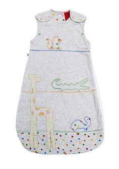 Plum Baby Cotton 1.0 Tog Animal Sleeping Bag