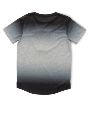 Indie Kids Dip Dyed Tee Navy - Size 3 to 7