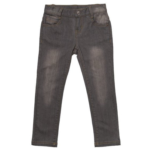 Fox & Finch Boys Skinny Leg Vintage Asphalt Denim Jean