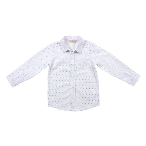 Fox & Finch Boy Circle Print Shirt
