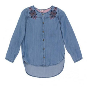 Tahlia Seattle Denim Shirt W Embroidery