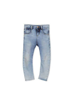 Milky Washed Denim Jean
