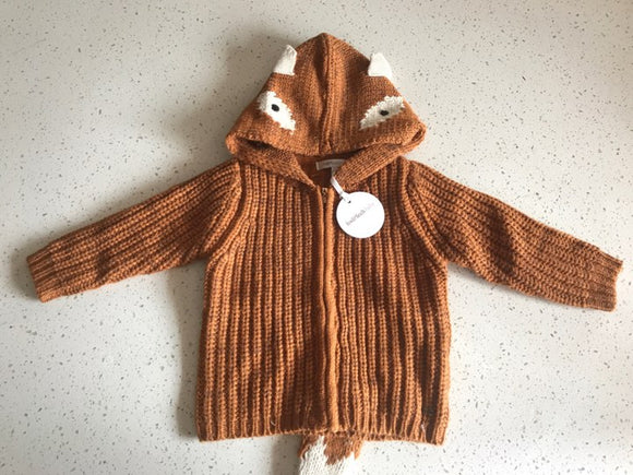 Fox and Finch Woodland Foxy Jumper
