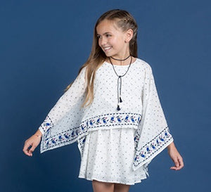 Tahlia Seattle Border Embroidered Dress