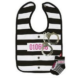 Bib and Sock Rascal Set - Pink