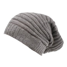 FOX & FINCH BABY Manhattan Grey knit beanie