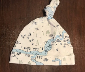Milky Map Hat