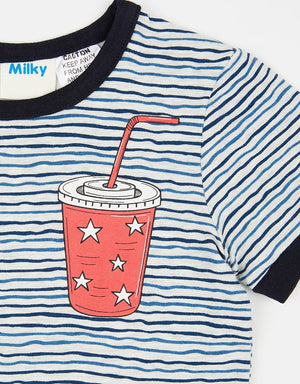 Milky Midnight Snacks Pjs (Sizes 8 and 10)