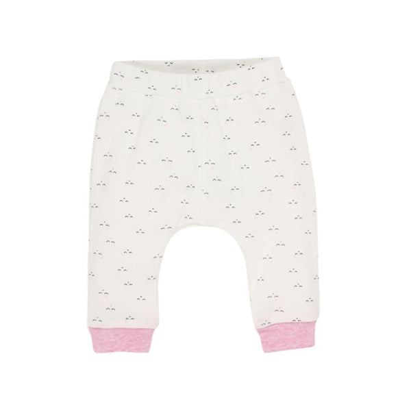 Fox and Finch Smile Leggings Pink Bow Sizes 3-9months