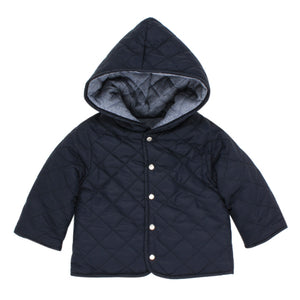 Bebe Baby Boys Quilted Reversible Jacket