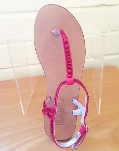Hiawatha by Minihaha Red Strappy Sandal