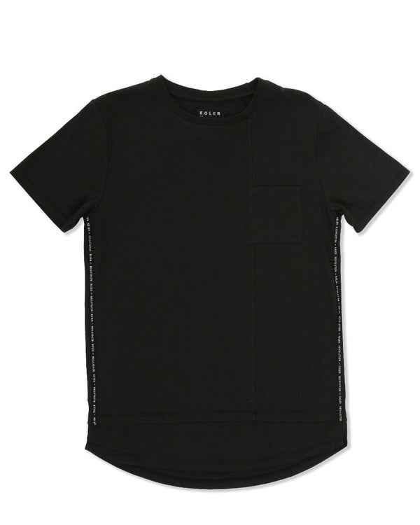 Indie Kids Roler Side Tee Black
