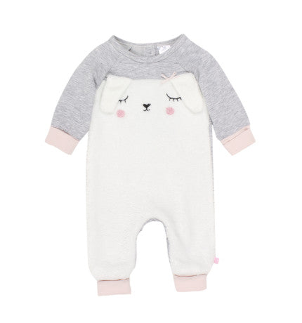 Fox and Finch Bunny Sherpa Romper