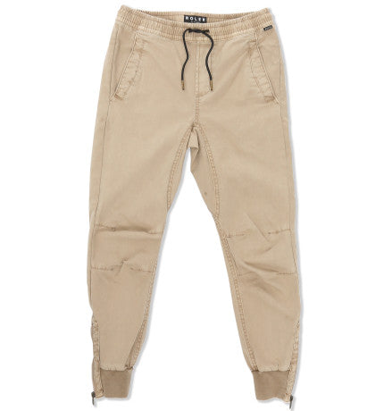 Indie Kids Roler Cuffed Jogger Stone - Size 8 to 14