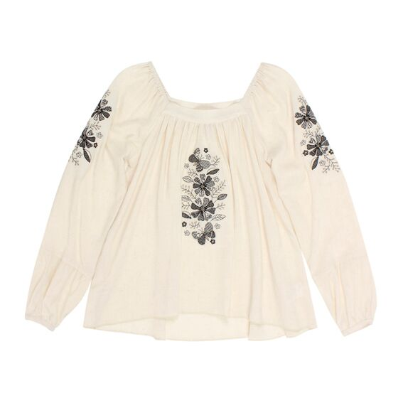 Tahlia Chicago Woven Top W Embroidery