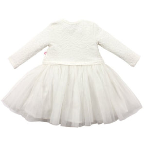 Bebe Baby Girl Liana LS Dress