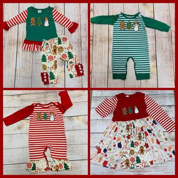 Christmas Embroidery Collection In Stock/RTS - SL