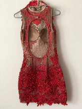 Red Rainha Sparkled Samba Dress