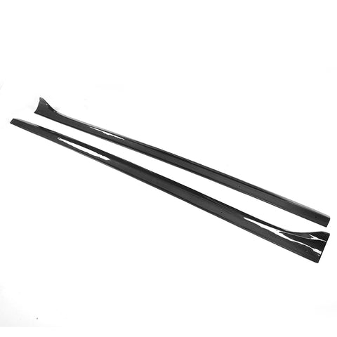 12-17 Audi A5 B8 Coupe JC Style Side Skirts Extensions - Carbon Fiber