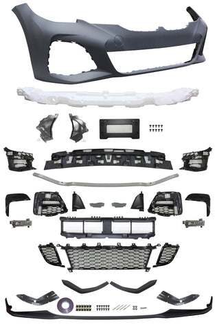 19-20 BMW G20 Bodykit Front Bumper & Side Skirts & Rear Bumper M-Performance Style