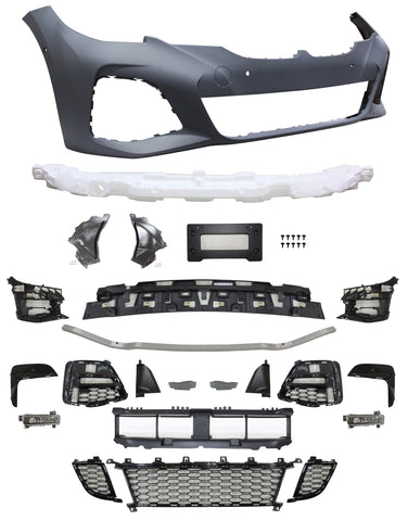 19-20 BMW G20 M-tech M-sport Bodykit Front Bumper & Side Skirts & Rear Bumper