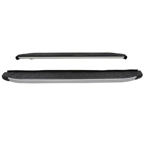 09-15 Honda Pilot Running Board Side Step Black Silver Set