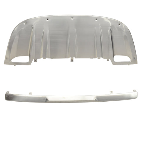 11-14 Porsche Cayenne OE Front Rear Skid Plate Bumper Diffuser Covers