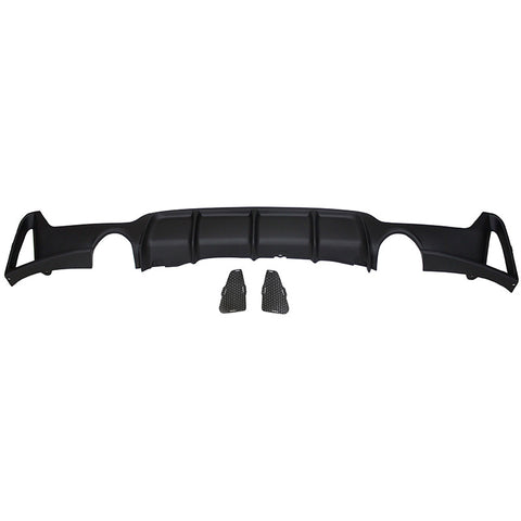 14-16 BMW F32 435i M Performance Rear Bumper Diffuser (O---O)