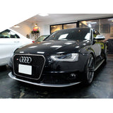 13-15 Audi A4 S4 RS4 Style Front Bumper Conversion with Chrome Black Grille